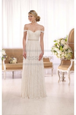 Essense of Australia Off-The-Shoulder Wedding Dress Style D1982  $409.00(51% off)  2016 wedding dress,cheap wedding dresses online,plus size wedding dresses,wedding dress for sale,wedding dress prices