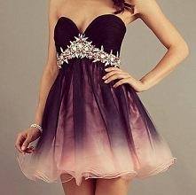 sukienka ombre :)