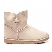 Krótkie buty a'la emu