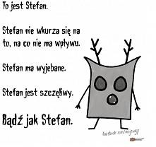 bądź jak Stefan xD