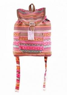 Plecak vintage z wzorem azteckim