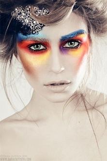 Artystyczna makeup - może odważywszy się na taki w karnawale? ;)