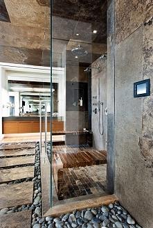 Nowoczesny prysznic w nowoczesnej łazience - zobacz jak wygląda! Przeszklony,...