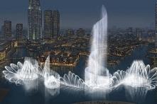 Fontanna w Dubaju