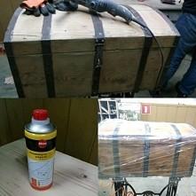 kuferek gotowy na malowania...