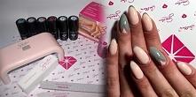 Zestaw do manicure hybrydowego Semilac + stylizacja