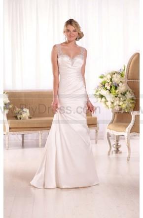 Essense of Australia Dolce Satin A-Line Wedding Gown Style D2071  $379  2016 wedding dress,cheap wedding dresses online,plus size wedding dresses,wedding dress for sale,wedding dress prices