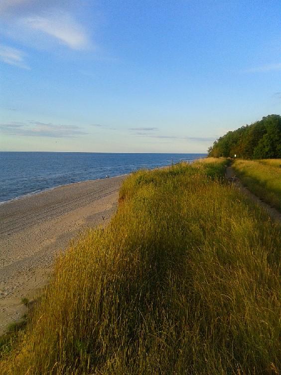 Trzęsacz Morze Baltyckie
