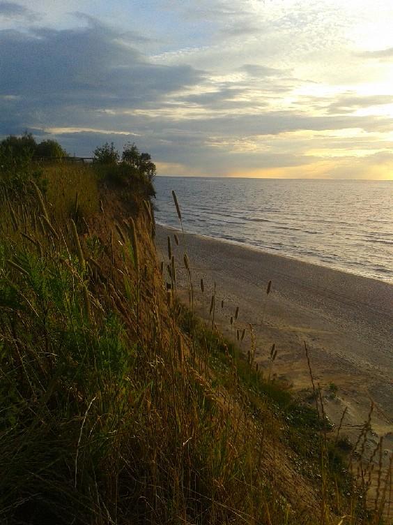 Morze Bałtyckie widok z góry