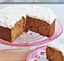 Proste ciasto marchewkowe bez glutenu. Przepis po kliknięciu w zdjęcie.