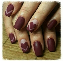 nails- heart