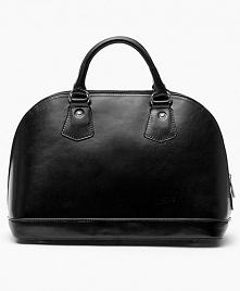 Czarna, zgrabna damska torebka