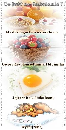 Co jeść na śniadanie? Zdrad...