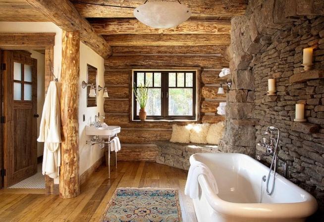 łazienka W Chłodnym Skandynawskim Stylu Domek Z Bali
