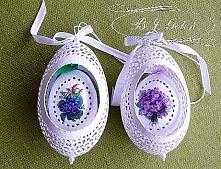 ażurowe jajka