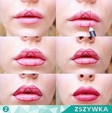 Jak pomalować usta :)