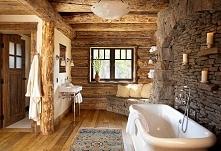łazienka w chłodnym skandyn...
