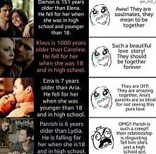 Oj no, bo Parrish ma ciągle jakieś sprośne myśli...