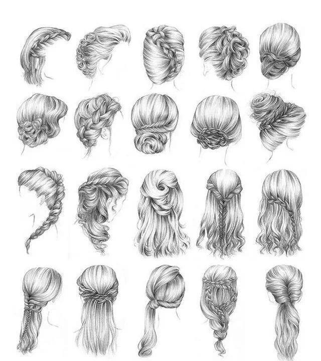 Różne Fryzury Na Włosy D Zszywkapl