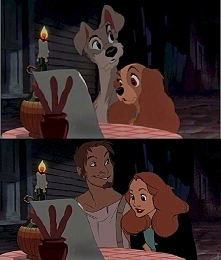 Lady i Tramp :)