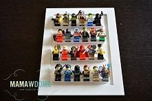 pomysł na przechowywanie ludzików Lego (MAMAWDOMU.pl)