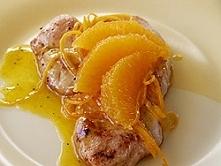 Piersi z kurczaka w sosie pomarańczowym