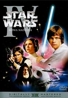 Gwiezdne wojny: Część IV - Nowa nadzieja ........................  Złowrogie Imperium zawładnęło galaktyką. Uwięzionej przez Dartha Vadera księżniczce Lei z nieoczekiwaną pomocą...