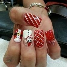 #semilac #zimowymanicure #paznokcie zszywka.pl /u/kinnky1/zimowy-manicure-lt3...