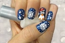 #semilac #zimowymanicure #p...