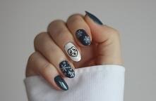 paznokcie ze wzorkami :)