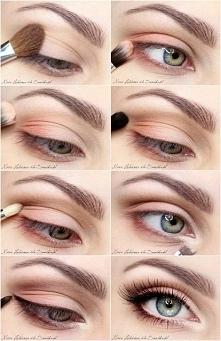 Naturalny dzienny makijaż