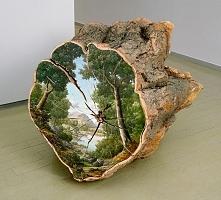 Malowane drzewo