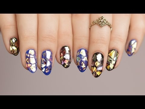 Szklane paznokcie - glass nails! ♡ Red Lipstick Monster ♡- Efekt oszałamiający *_*