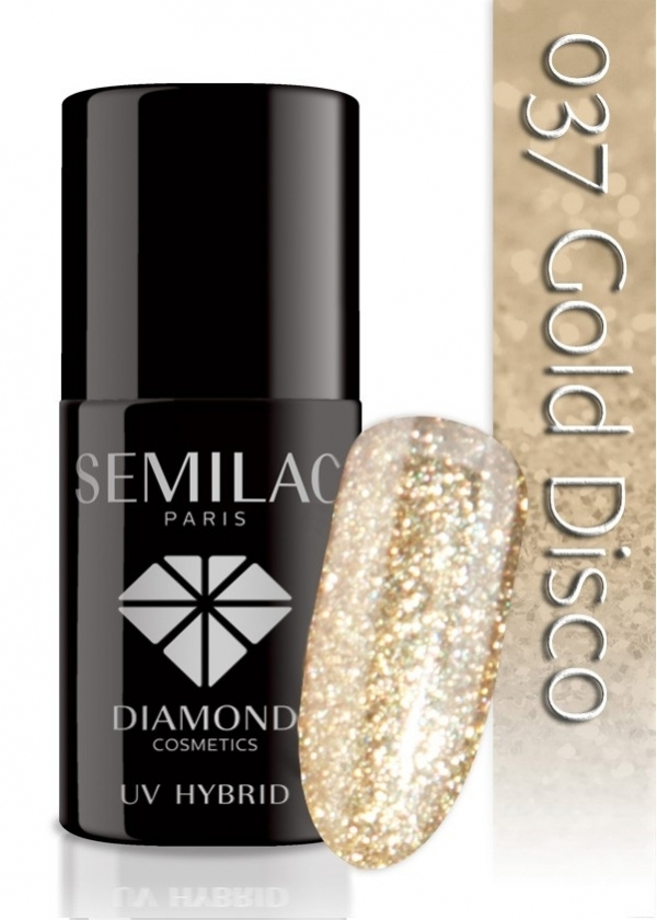 złoty Semilac 037 Gold Disco