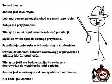 nie bądź jak Janusz