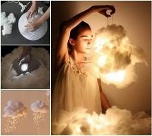 ciekawy pomysł na ... lampkę chmurę (?)