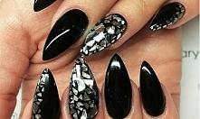 black nails