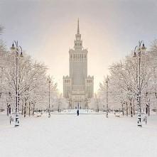 Pałac Kultury, Warszawa, Polska :)