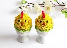 Kurczaczki ocieplacze na jajka
