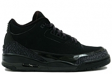 Air Jordan 3 III Retro Blac...