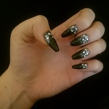 my new prom nails.