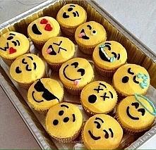 Babeczki emoji