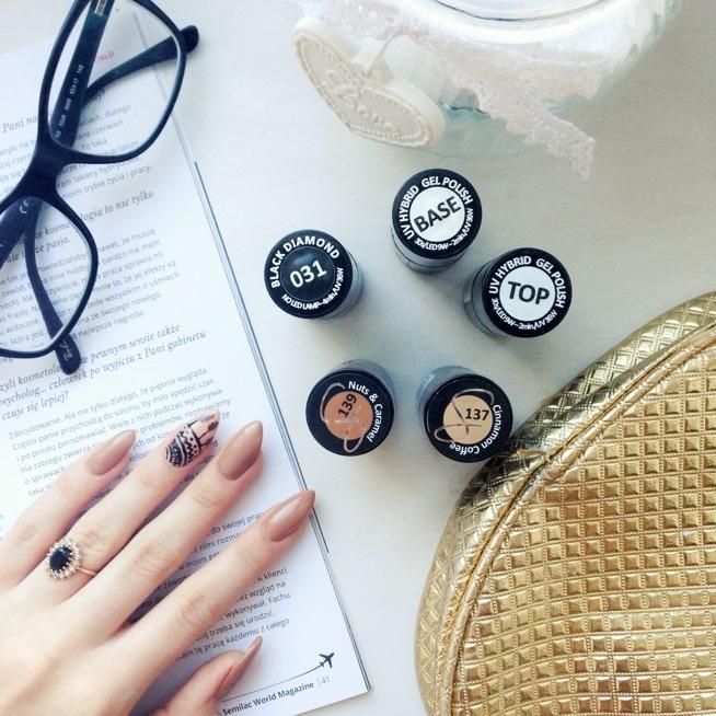 hej. lubicie kolory nude na paznokciach? ja uwielbiam. tutaj sa dwa śliczne kolory od semilac. macie je juz w swojej kolekcji?
