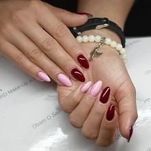 Bardzo śliczne,kobiece paznokcie ;*