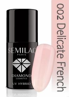 Semilac Delicate French Idealny, klasyczny, schludnie wyglądający. Pasujący do każdej stylizacji.