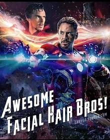 Iron man i Doctor Strange - Robert Downey jr. i Benedict Cumberbatch