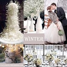 Wesele zima, zima ślub > zdjęcia inspiracje