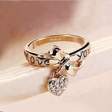 Ring, love, and heart