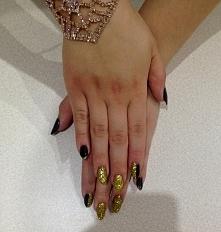 Czerń i złoto :)