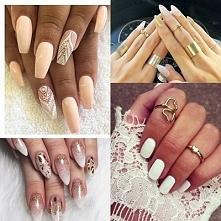 Pomysły na zachwycający zimowy manicure ^^
